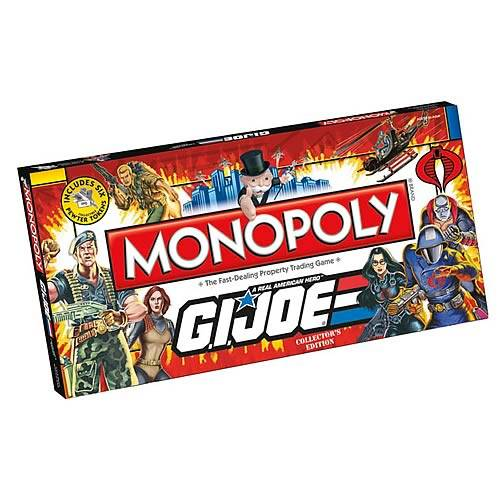 monopoly board game gi joe edition