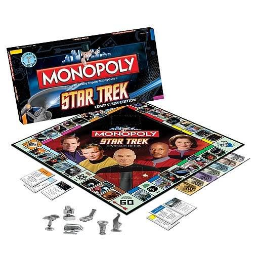 monopoly board game star trek edition