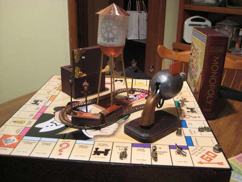 monopoly board game steampunk edition