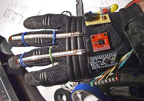 Rock Paper Scissors Glove