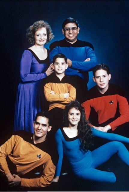 star trek family geek trekkie image