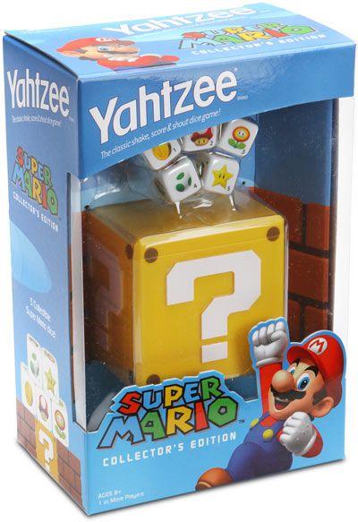 super mario bros yahtzee dice game image