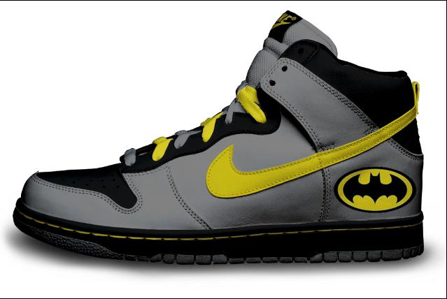 Batman shoe