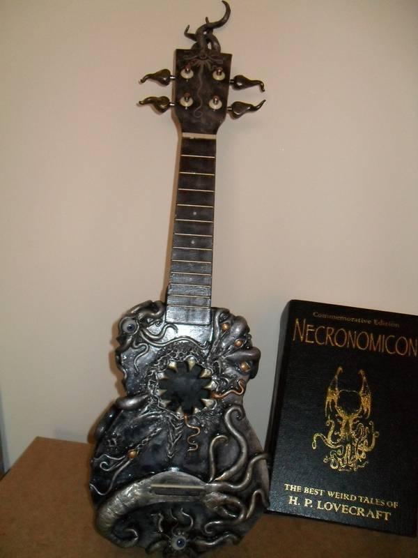 cthulu mythos ukulele mod design