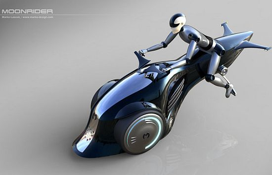 MoonRider Flying Bike Concept Leaves You Dumbstruck!-1
