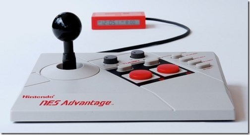 NES joystick clock art