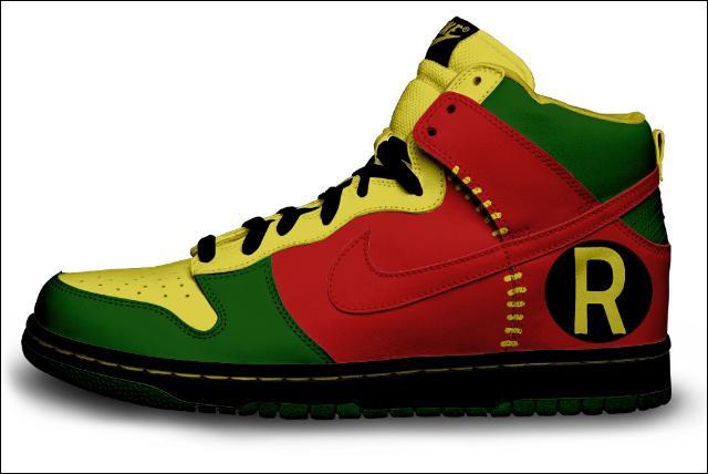Robin's Shoe