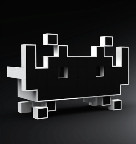 The Space Invader Couch For Geeky Yet Cool Interior-3