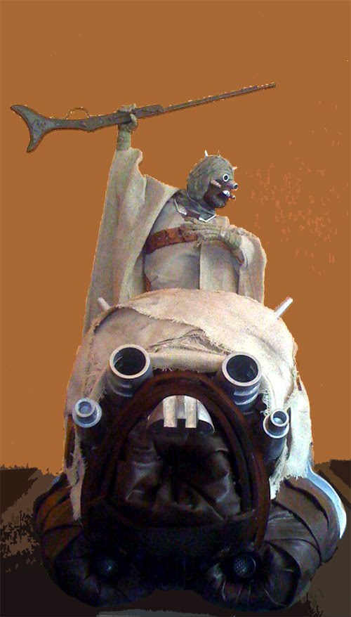 Tusken Trooper Helmet For The Star Wars Fan (1)