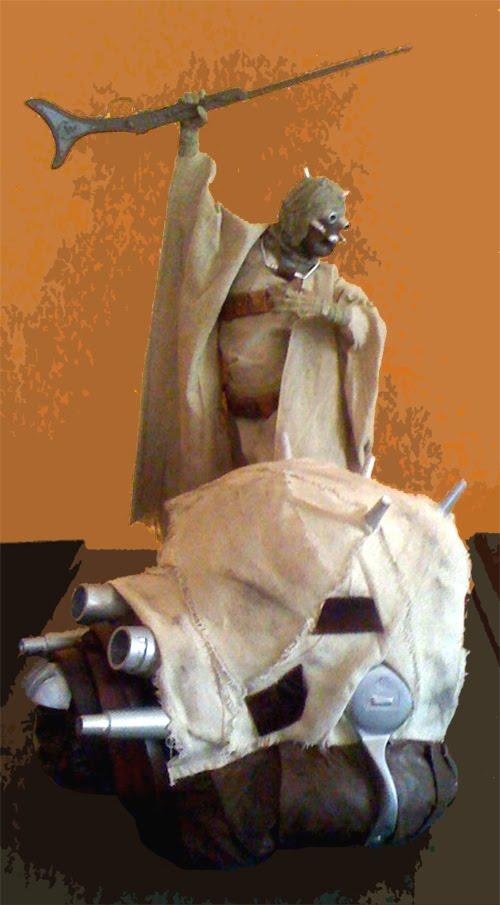Tusken Trooper Helmet For The Star Wars Fan (3)