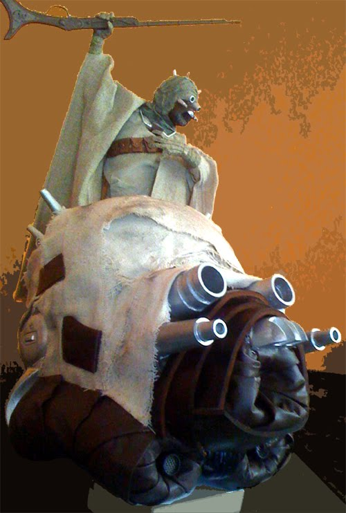 Tusken Trooper Helmet For The Star Wars Fan (4)
