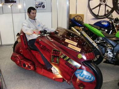 akira scooter mod design