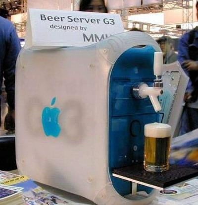 apple g3 beer server mod design