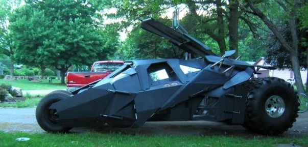 batman batmobile car mod design 1