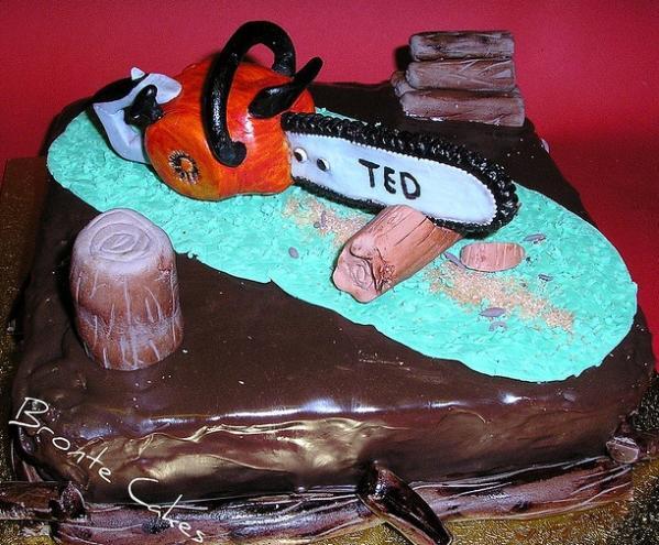 chainsaw cake design image 4