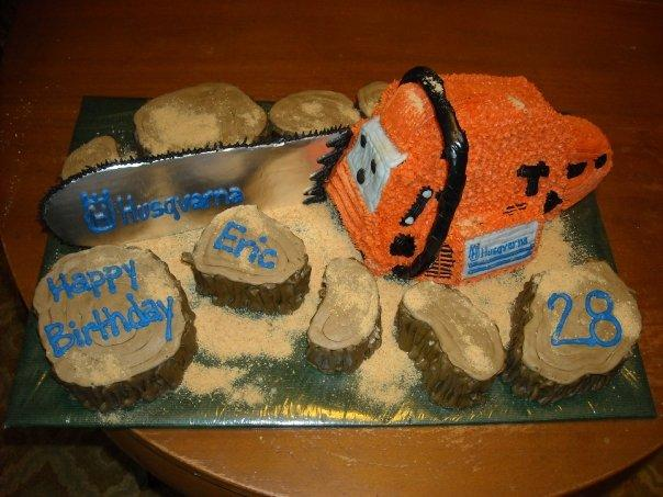 chainsaw cake design image 8