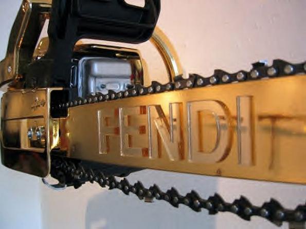 chainsaw design fendi image 1