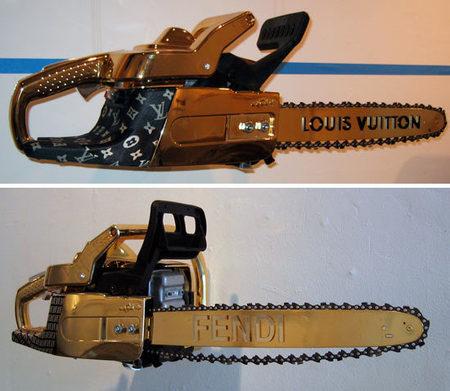 chainsaw design louis vuitton image 1
