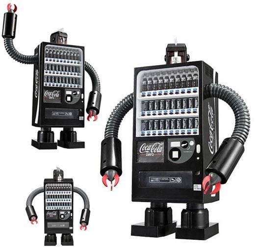 coke robot vending machine image 2