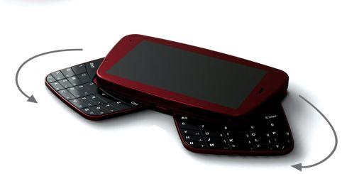 cool black keypad phone