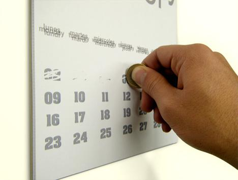 creative calendar design scratchers image