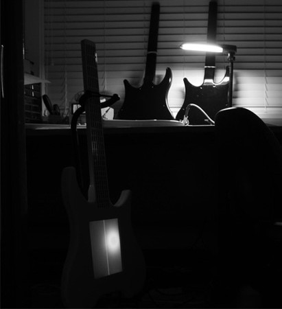 digital guitar mod design