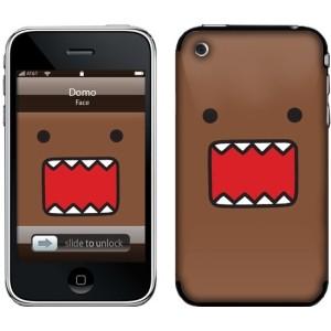 domo kun domo face iphone skin