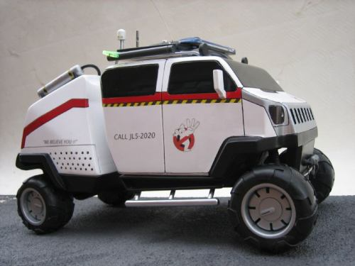 ghostbusters ecto car mod design 2
