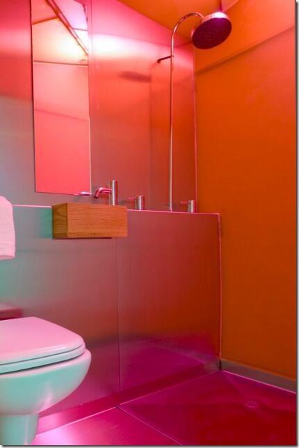 Interior Living Unit Bathroom