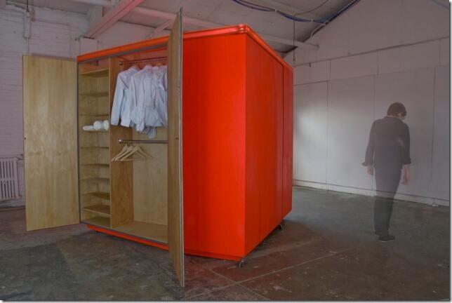 Interior Living Unit Closet