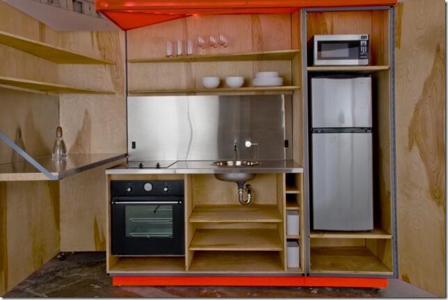 Interior Living Unit Kitchen