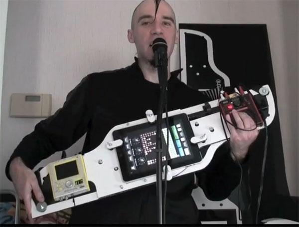 ipad guitar mod design