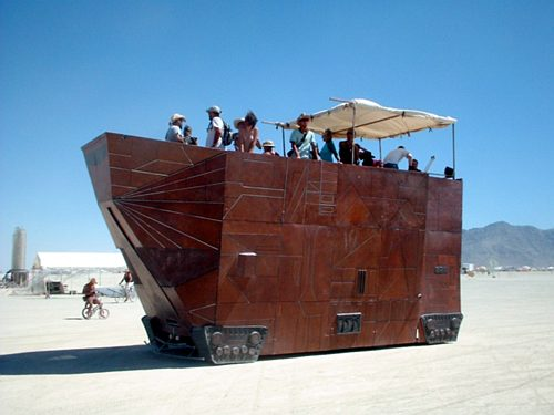 jawa sandcrawler star wars car mod 2