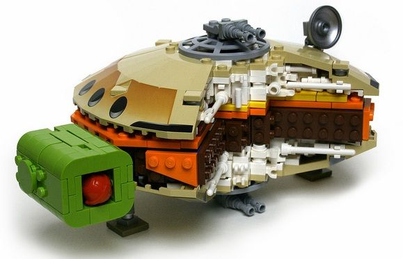 lego millennium falcon burger