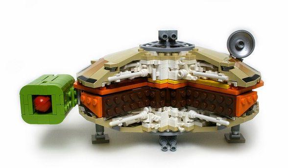 lego star wars millennium falcon burger design