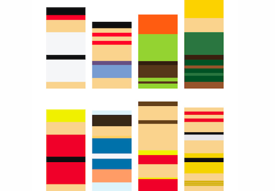 Minimalist Street Fighter Art