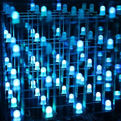 multi-color animated LED