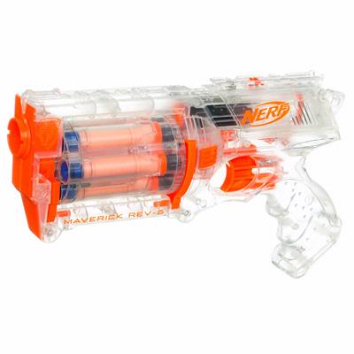 nerf n strike clear maverick REV-6 giveaway