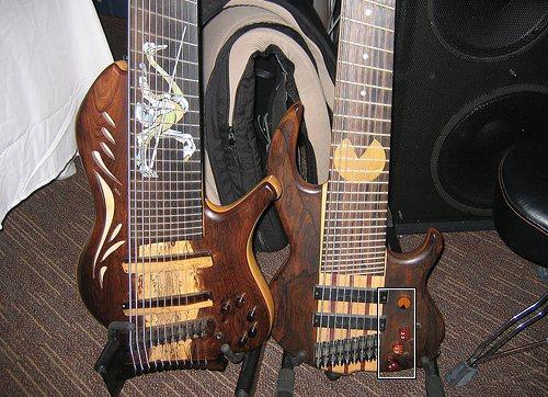 pacman bass guitar mod design 2