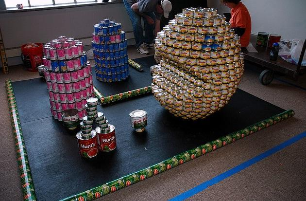 pacman canstruction artwork 5