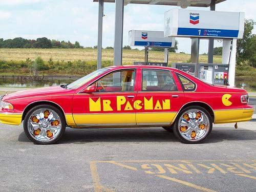 pacman car mod geek design 1