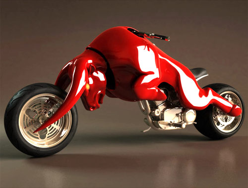 red bull motorcycle mod design