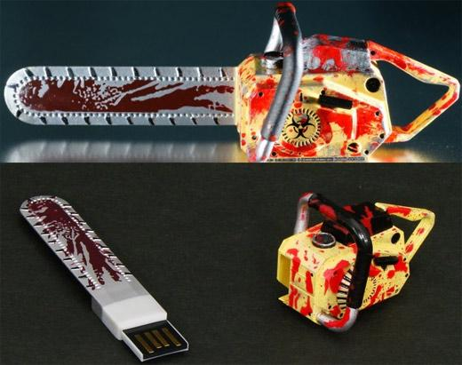 resident evil chainsaw usb flash drive design image