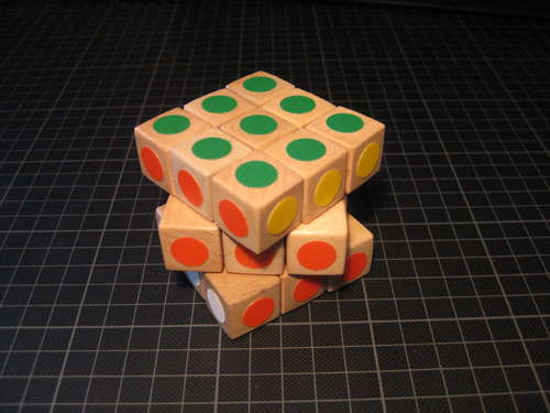 shifting cubes