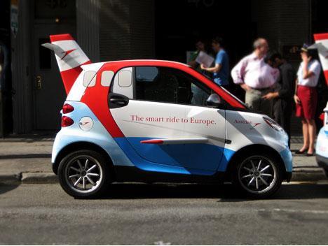 smart car design plane wings image