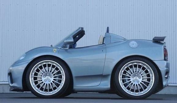 smart ferrari car design image 1