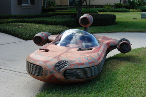 star wars landspeeder mod design 2