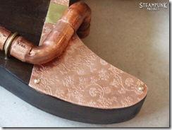 Steampunk Guitar Copper Cutaway