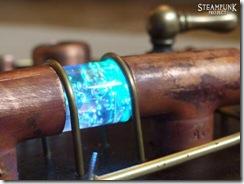 Steampunk Guitar Pipe Detail