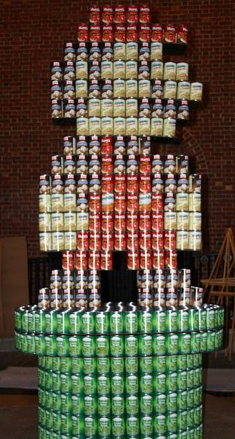 super mario bros canstruction artwork 6